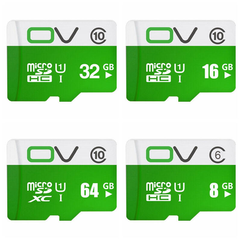 OV Micro SD Card 16GB 32GB 64GB Class 10 Real Capacity Memory Card Micro SD TF Card SALE Price for C