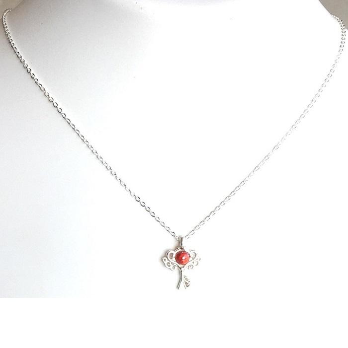 designer silver pendant