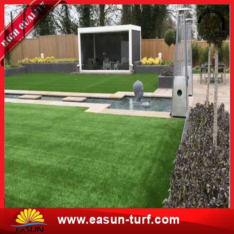 Popular use decoration thick artificial grass synthetic turf carpet-Donut