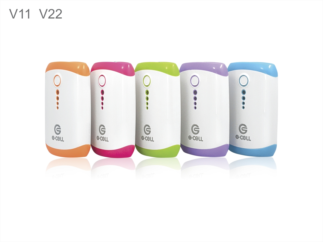 Smart Portable 18650 Li-ion Battery Plastic Power Bank for Promotion Gifts