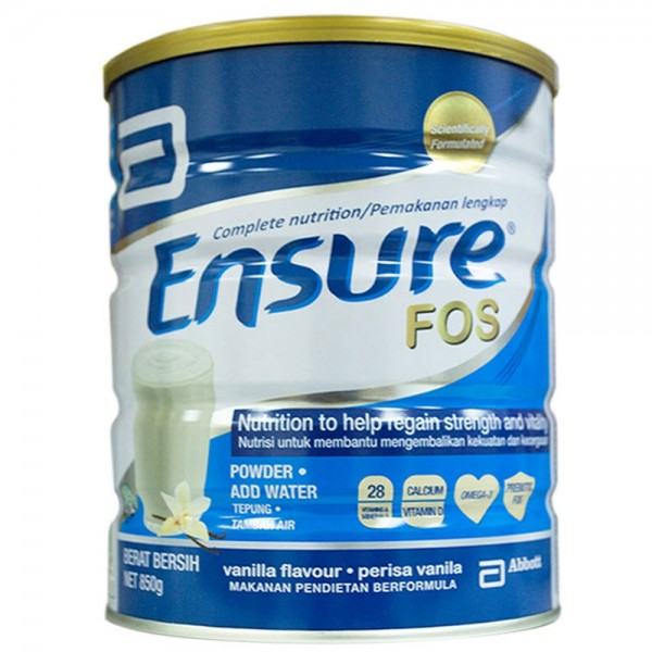 ENSURE POWDER 850G VANILLA