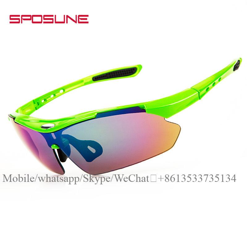 Wholesale 2019 Custom newly design Fashion polarized driving cycling sports sunglasses