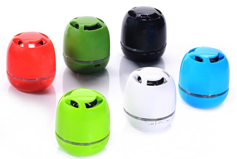 2014 most popular fancy product mini cylinder gift bluetooth speaker
