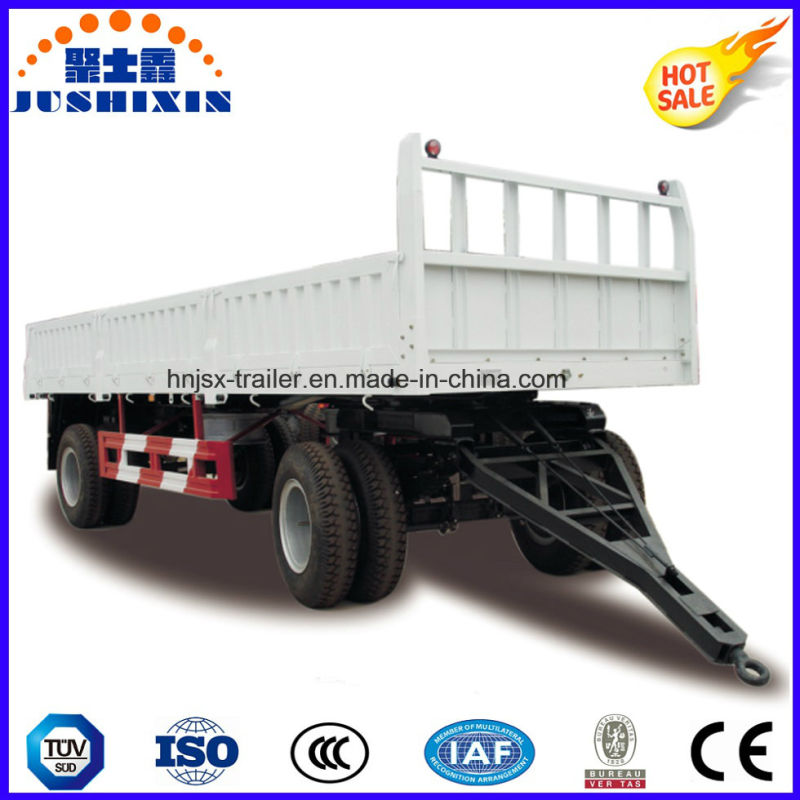 Drawbar Flatbed Semi Trailer