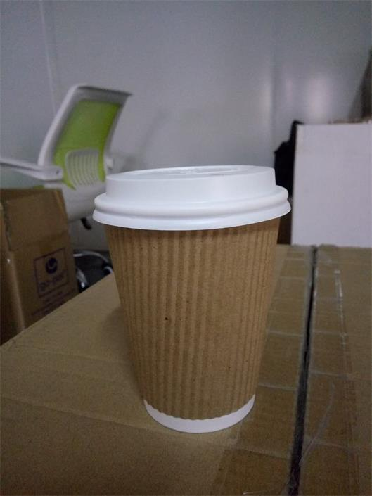 PLA Biodegradable Ripple Wall Cup