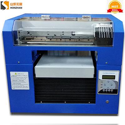 Honzhan HZ-EA3-6C Eco Solvent Flatbed Printer 330600mm with Epson R1390 Printhead