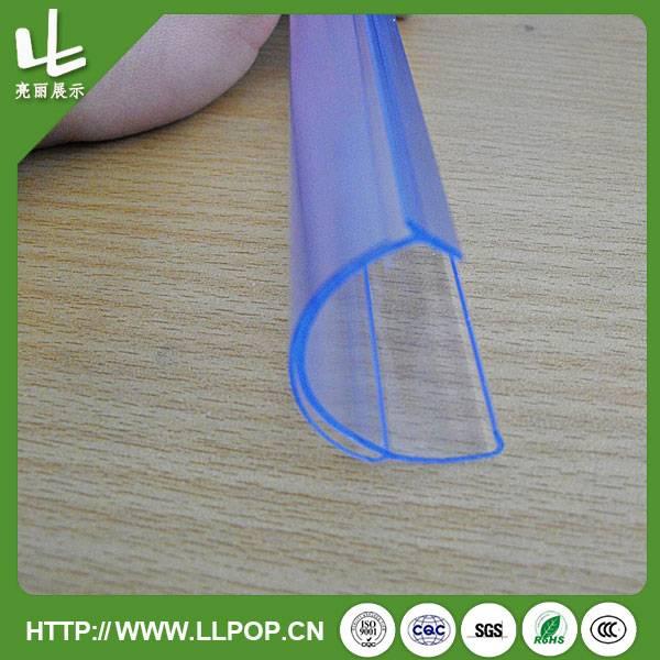 PVC Advising Reusable Label Holder Strips
