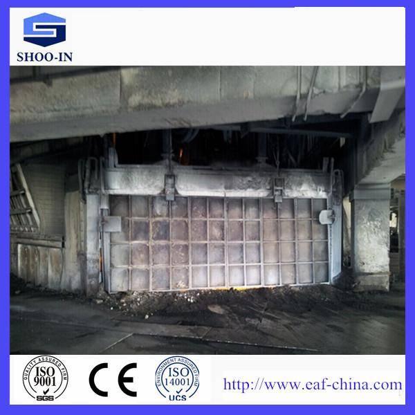 Submerged arc furnace for ferrosilicon smelting