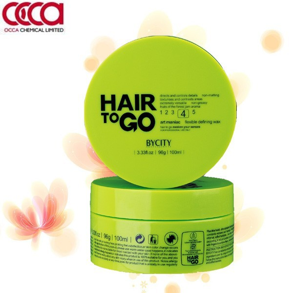 Private label hair products strong hold shine hair wax for salon use