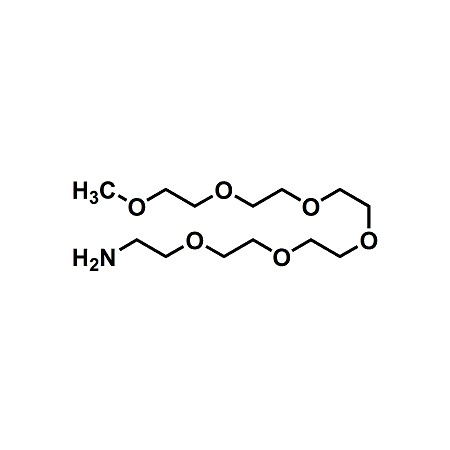 mPEG6-amine; mPEG6-NH2; 2,5,8,11,14,17-Hexaoxanonadecan-19-amine; CAS#184357-46-8