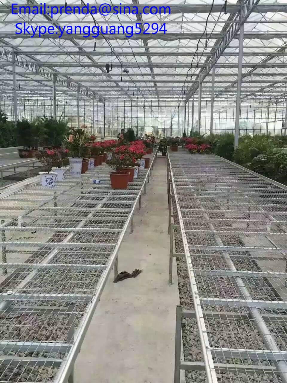 greenhouse potting bench for seeding grow