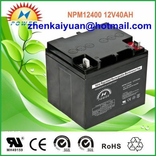 lead acid /sealed /ups/solar/ battery12V40Ah
