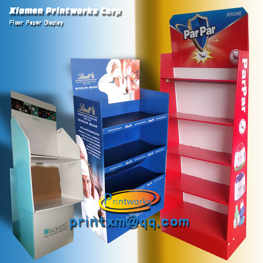 Retail Store and Supermarket Paper Display Units