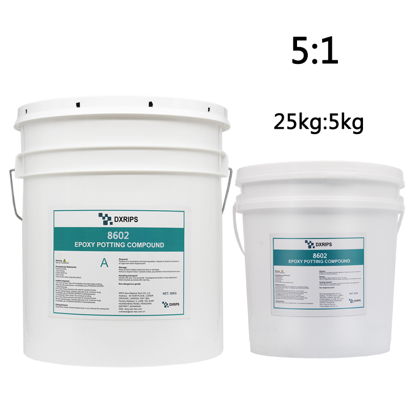 high temperature optically clear potting epoxy for electronics for metal