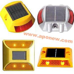 LED Solar Road Stud / Solar Spike Flashing Light