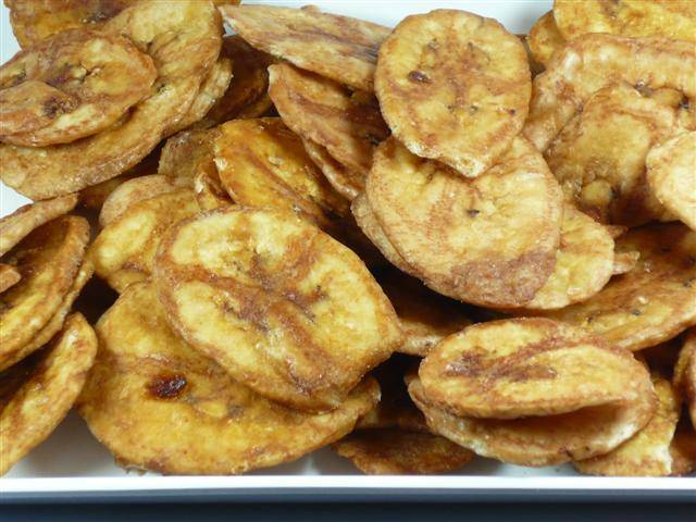 Banana Chips Dried Fruit Importer Snack Freeze Dry Vacuum Fried