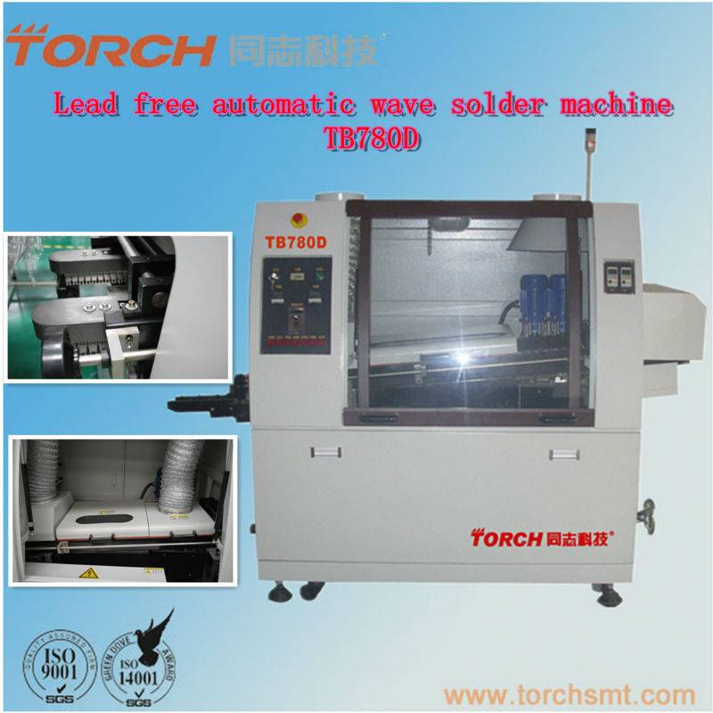 Double Wave Automatic Wave Soldering Machine  TB780D (TORCH)