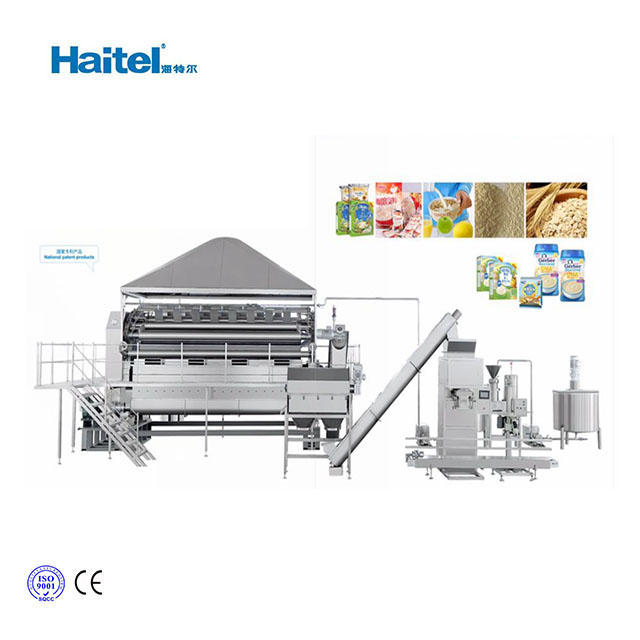Nutritional Instant Baby Food Cereal Powder Production Machine