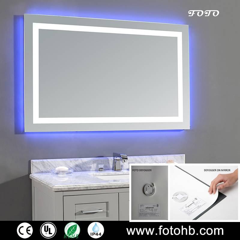 LED Lighted Defogger Mirror