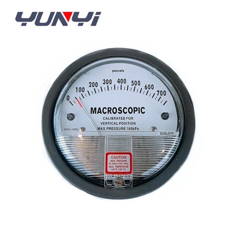 differential air pressure gauge