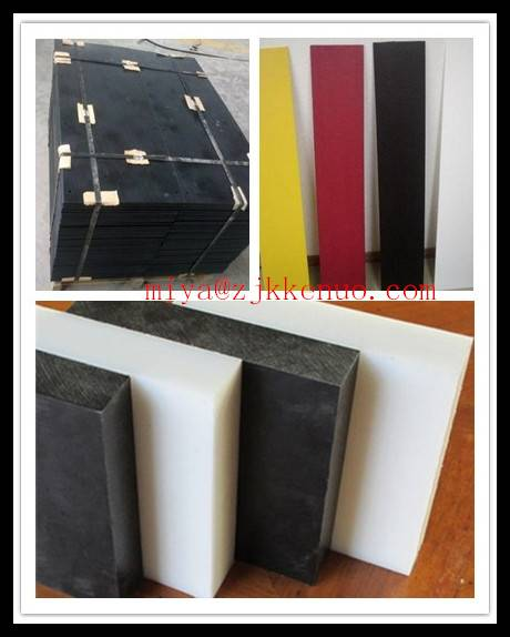 Natural UHMW-PE Plate with good wear resistance