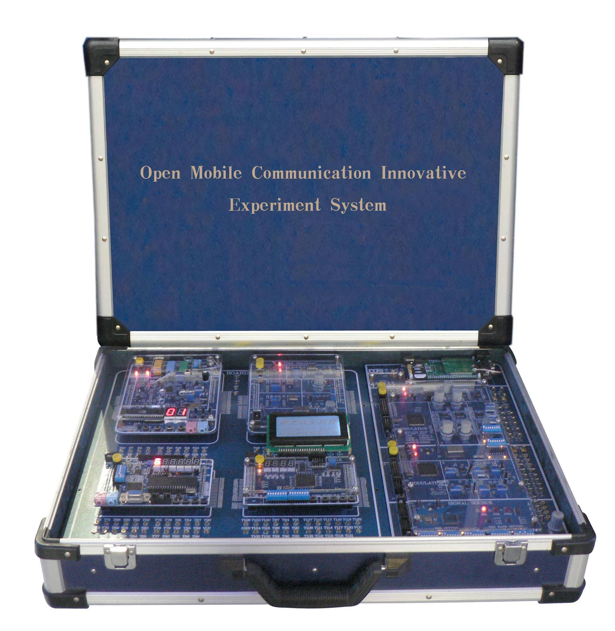 didactic educational equipment training device/ ES0407F Open Mobile Communication Innovative Experim