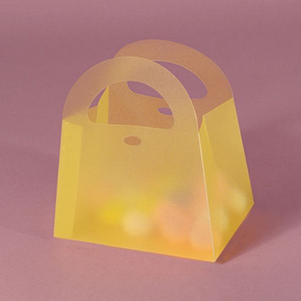 Plastic folding gift box packaging