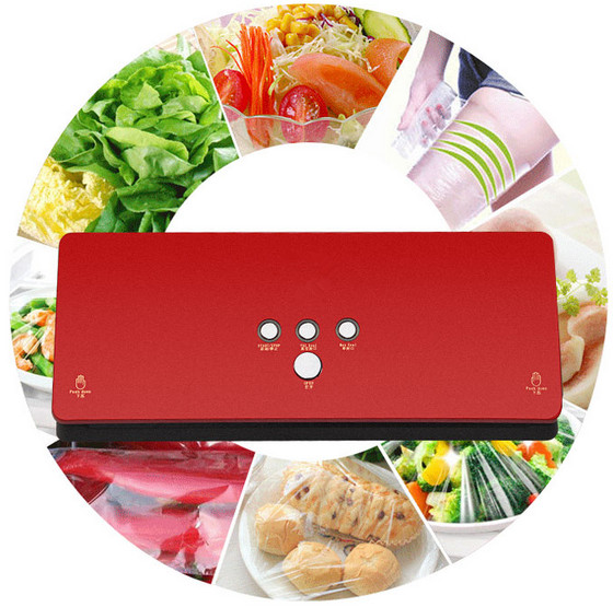 Household vaccum sealer for food