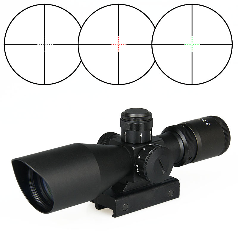 Tactical hunting rifle scope for outdoor shooting long gun parts