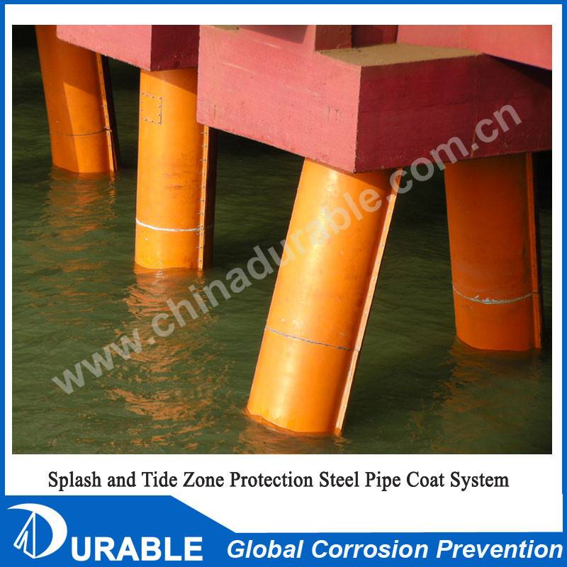 Marine Steel Pile & PHC Pile anti-corrosion protection system