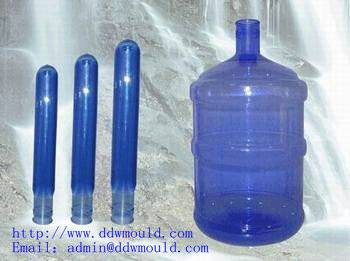 DDW wholesale 55mm 5gallon PET Prefroms for Drinking Water Packing