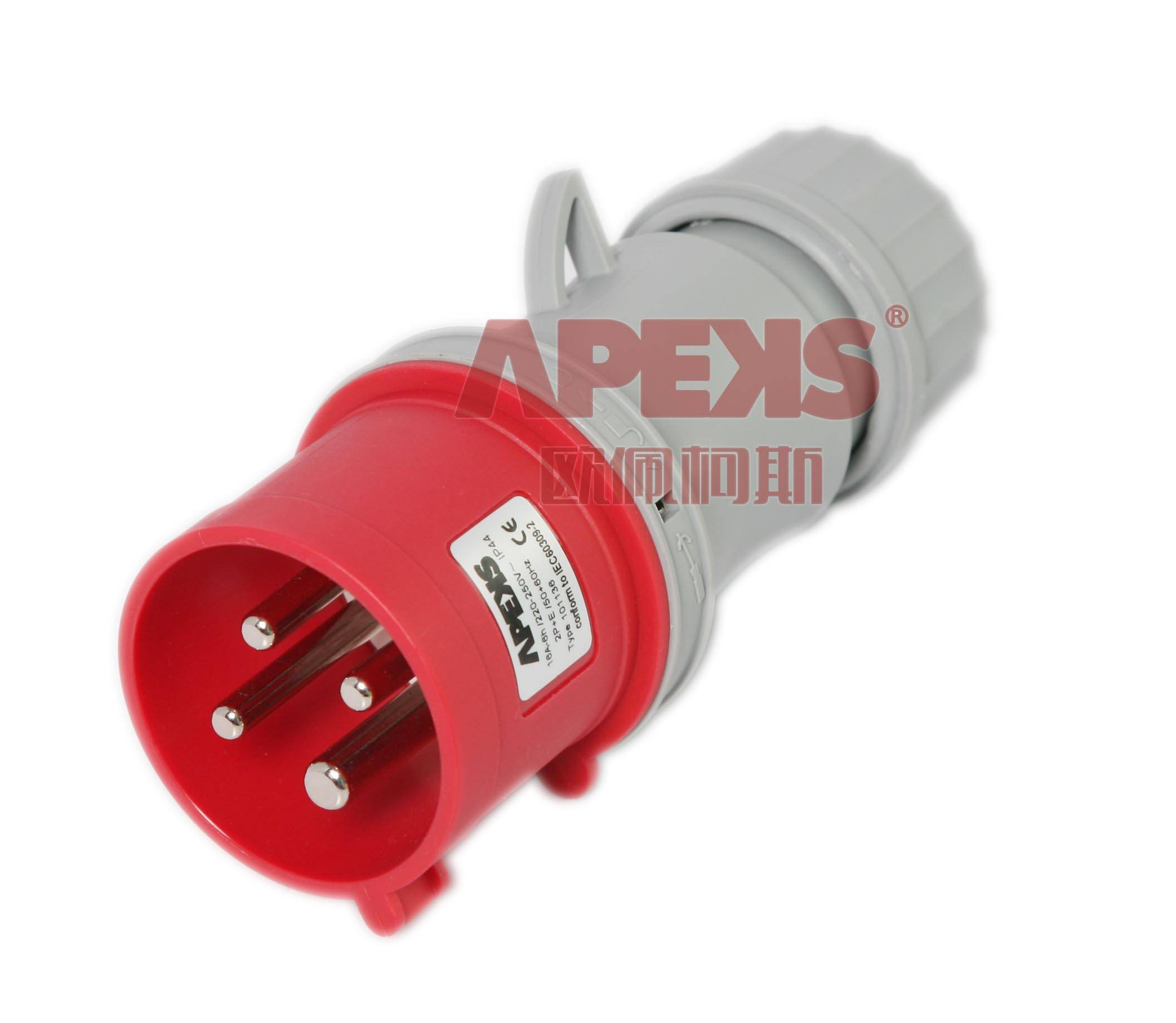 New Style IP44 Industrial Plug