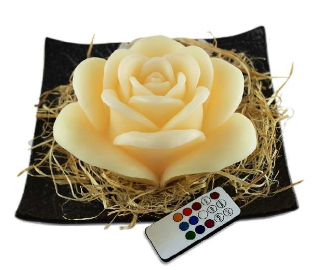Remote Control Led Candle-Rose HG1210