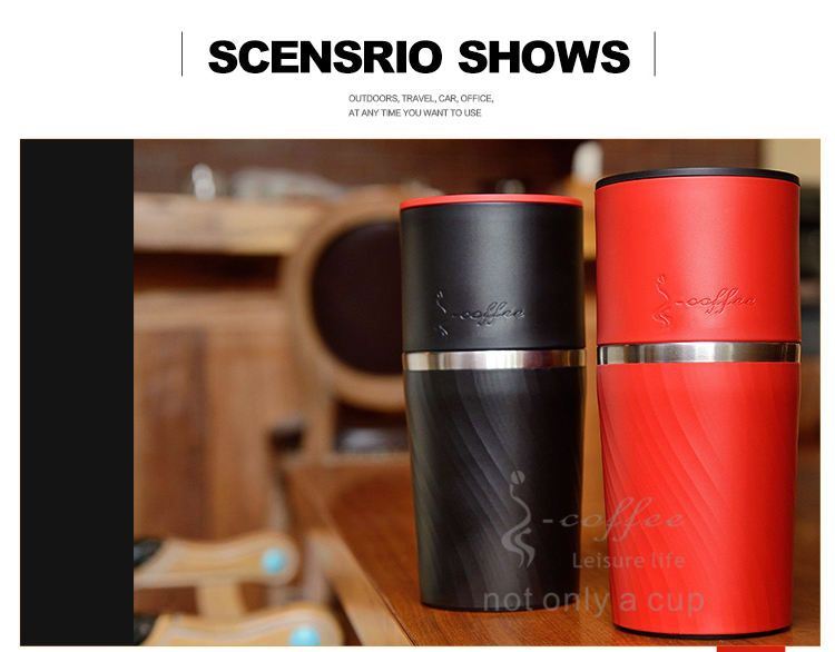 Wholesale mini portable travel one cup coffee maker