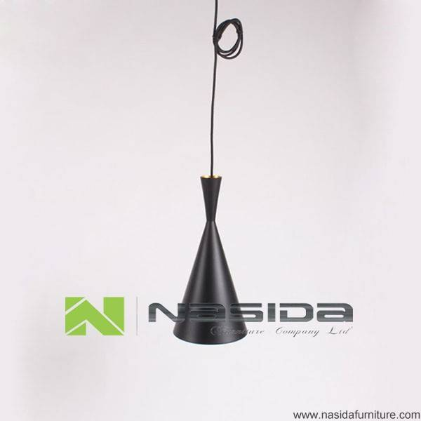 LP290C Full black aluminum skin a small pendant with a set of three Pendant Lamp