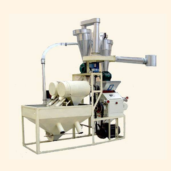 Self-feeding Horizontal Wheat Flour Milling Machine