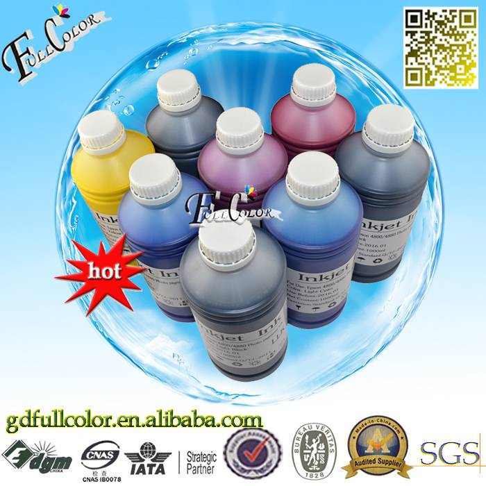 Bulk Buy From China 8Color 1000ML Pigment Ink For Stylus Pro 4000 7600