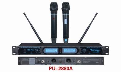 PU-2880A Sync IR UHF Wireless Microphone