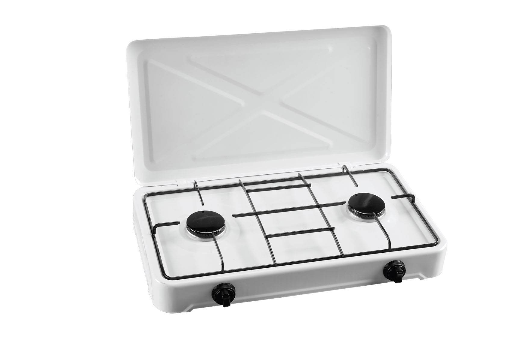 simple gas stove 2 burners