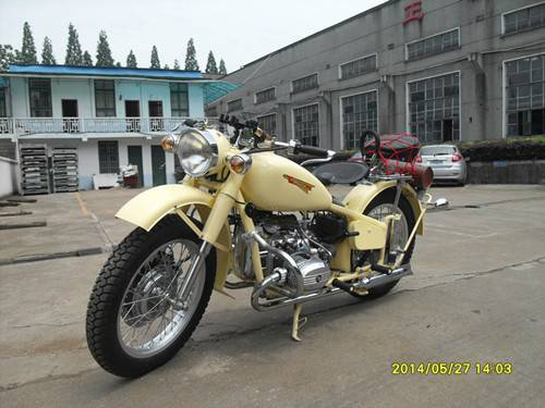 Customized Cool Shape 750cc Two Wheels Motorcycle
