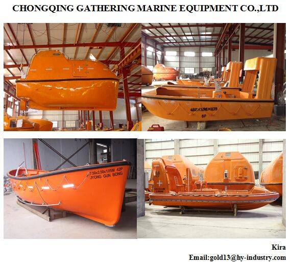 Marine Partially Enclosed Lifeboat with Good Offer