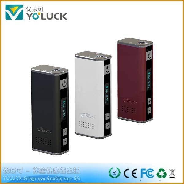 Wholesale 510 thread 30W box MOD ecig Kamry professional technology
