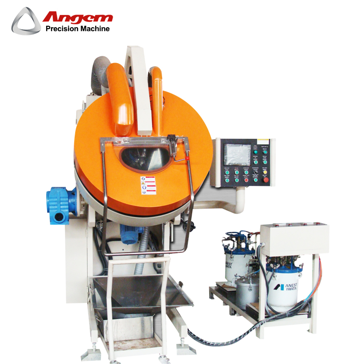 Adhesive Painting Machines Seal Roller Coating Machine for Small metal parts