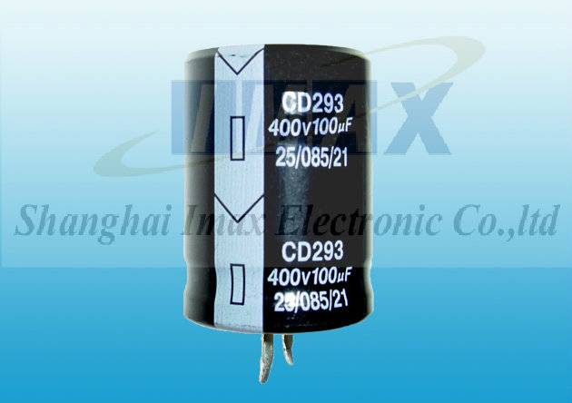 CD293 85C Snap in aluminum electrolytic capacitor