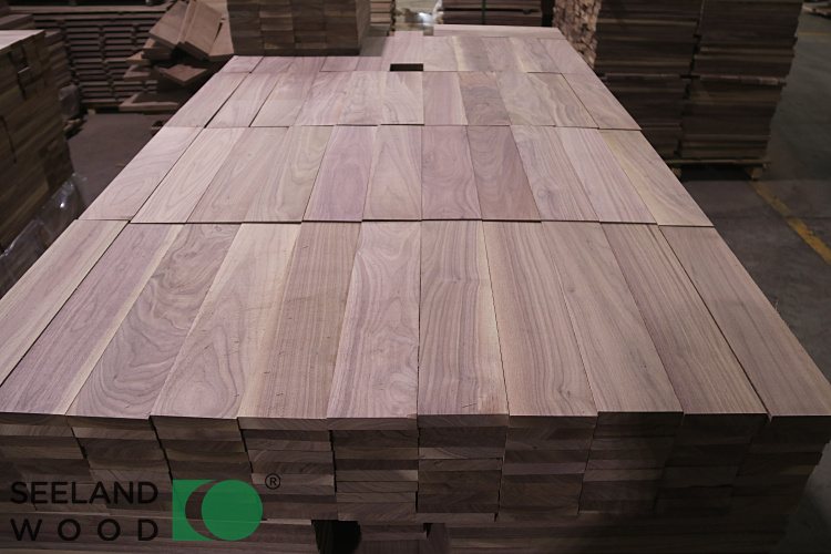 American Black Walnut Flooring Raw Materials
