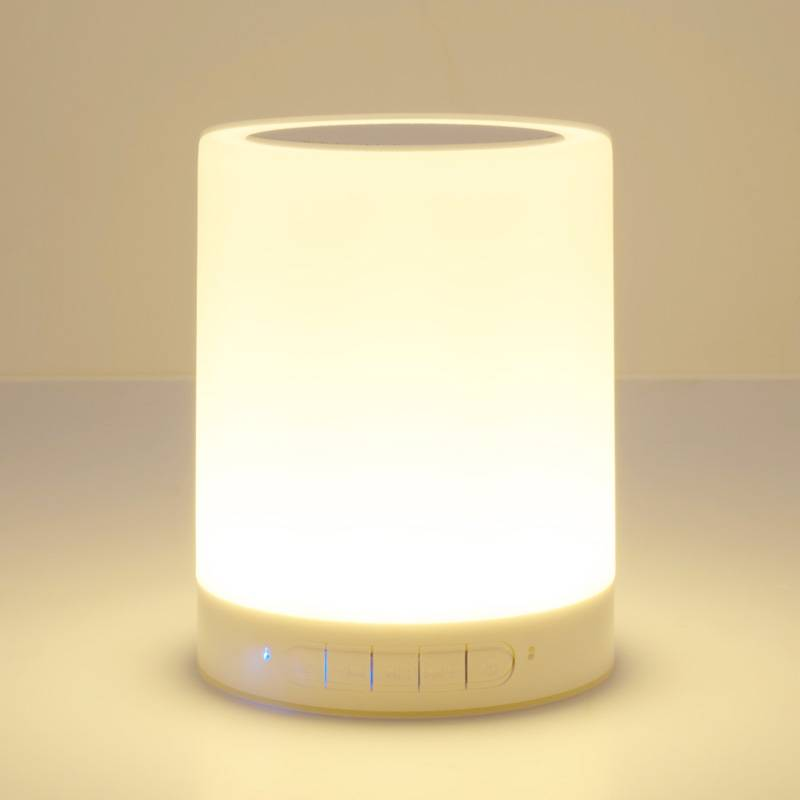 Smart Touch Control LED Music Lamp Bluetooth Portable Speaker