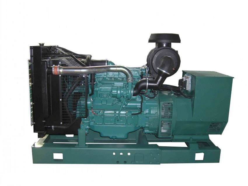 Silent/Open  type 3 Phase 50Hz Diesel 68kw Generator Head With VOLVO Engine Generator