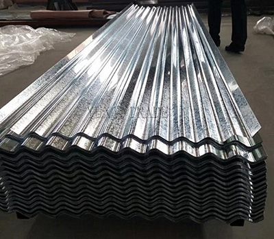 Corrugated HDGI Steel Sheet