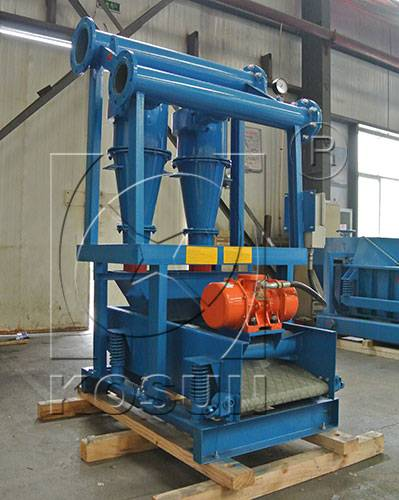 KOSUN Oilfield drilling mud desander
