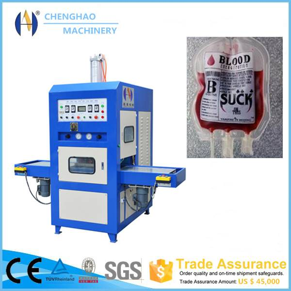 8KW high frequency welding and cutting machine for urine/blood/medical bag